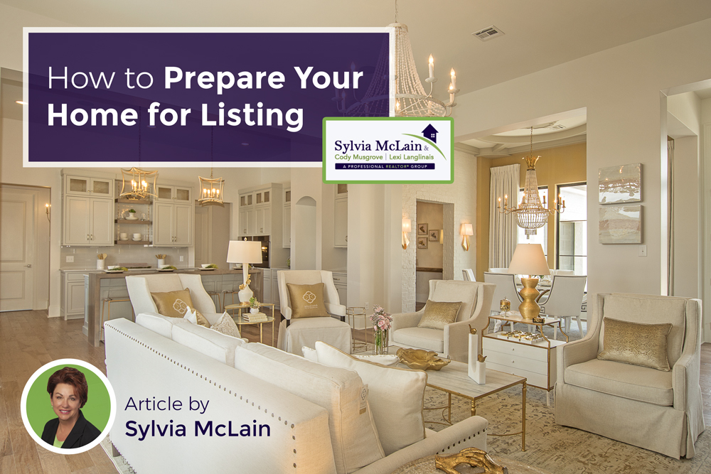 how to prepare your home for listing